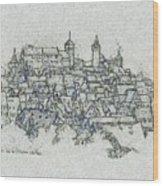 uremberg Sketching Wood Print