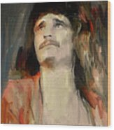 Uriah Heep Portrait Wood Print