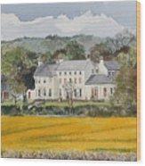 Urpeth Hall Co Durham Wood Print