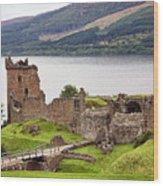Urquhart Castle I Wood Print