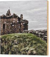 Urquhart Ruins IIi Wood Print