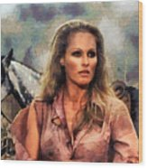 Ursula Andress Wood Print