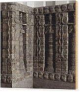 Uruk: Innin Temple Facade Wood Print