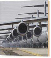 U.s. Air Force C-17 Globemaster IIis Wood Print