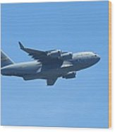 U.s. Air Force Cargo Plane Wood Print