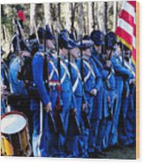 U.s. Army 1845 Wood Print