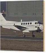 U.s. Army C-12 Huron Liaison Aircraft Wood Print