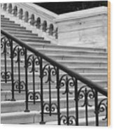 United States Capital Steps Wood Print