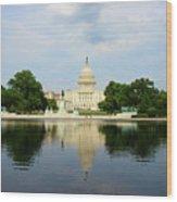 Us Capitol 1 Wood Print