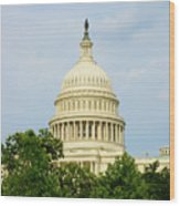 Us Capitol 2 Wood Print