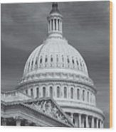Us Capitol Building Iv Wood Print