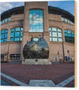 Us Cellular Field Wood Print