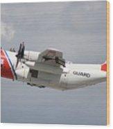 Us Coast Guard C-130 Wood Print