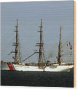 U.s. Coast Guard Eagle Wood Print