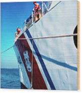 Us Coast Guard  Wood Print