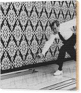 U.s. President Richard Nixon, Bowling Wood Print