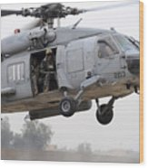 U.s. Special Forces Conduct Assault Wood Print