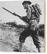 U.s World War II Infantry, 1942 Wood Print