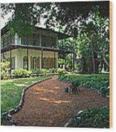 Usa, Florida, Key West, Ernest Wood Print