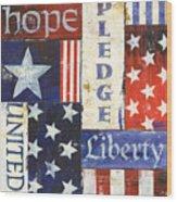 Usa Pride 1 Wood Print