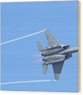 Usaf F-15 Strike Eagle . 7d7864 Wood Print
