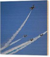 Usaf Thunderbirds Media Day 2 Wood Print