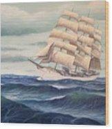 Uscg Danmark Wood Print