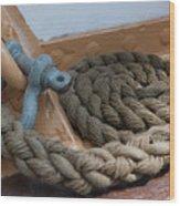 Uscg Line Wood Print