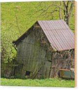 Used Virginia Barn Wood Print