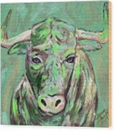 Usf Bull Wood Print