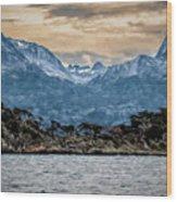Ushuaia Ar 9 Wood Print
