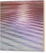 Ushuaia Ar - Ocean Ripples 2 Wood Print