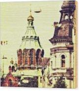 Uspenski Cathedral Wood Print