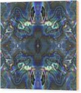 Uss Arizona Sailor Tears Kaleidocope Wood Print