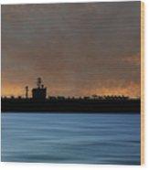Uss Carl Vinson 1982 V3 Wood Print