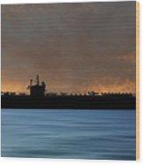 Uss Ronald Regan 2003 V3 Wood Print