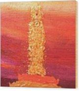 Ut Tower Wood Print