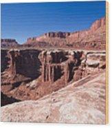 Utah-canyonlands National Park Wood Print
