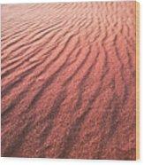 Utah Coral Pink Sand Dunes Wood Print
