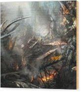 Utherworlds Ashes Wood Print