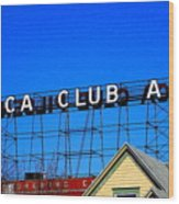 Utica Club Ale West End Brewery Wood Print