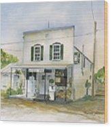 Utica Store Wood Print