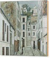 Utrillo: Limpasse, 1911 Wood Print