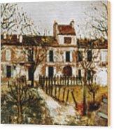Utrillo: Montmagny, 1908-9 Wood Print
