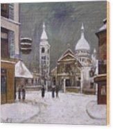 Utrillo: Montmartre, 1931 Wood Print