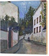 Utrillo: Sannois, 1912 Wood Print