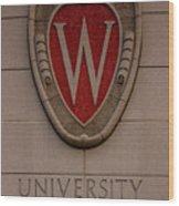 UW Wood Print