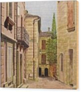 Uzes, South Of France Wood Print
