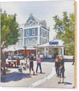 V And A Waterfront Cape Town Wood Print by Jan Hattingh