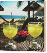Vacation Wood Print